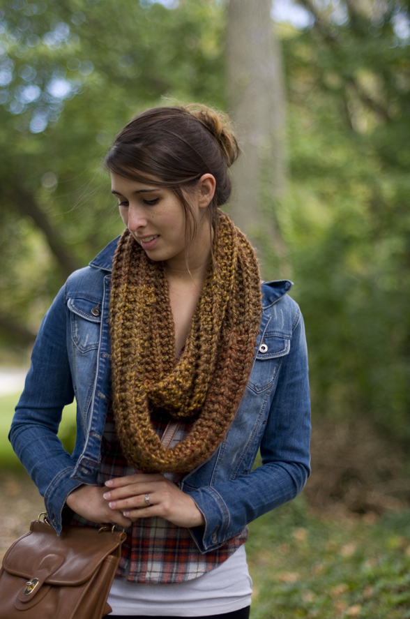 Magnificent Simple Knit Infinity Scarf Pattern Embellishment - Easy ...